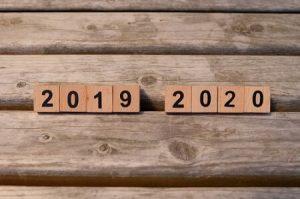 2019から2020へ