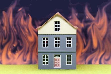 木造住宅の防火性